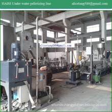 TPE plastic under water pelletizing machine