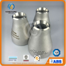 Raccord excentrique de soudure bout à bout de réducteur d'acier inoxydable (KT0219)