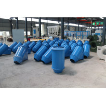 Storage Bin Wall Connecting Truck with Long Tube Installation Dust Suppression Hopper When Discharging