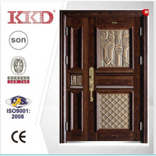 2015 New Design Steel One and Half Door Leaf Door KKD-911B With High Quality Aluminum Finished