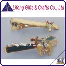 Instock Custom Masonic Oes Gold Tie Clip for Souvenir