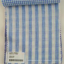 Varia de cor 100% tecido de linho para a camisa de vestuário e vestido