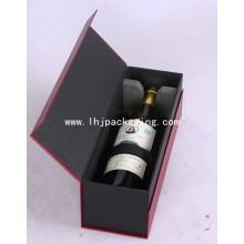 Вино Упаковка Бумага Подарочная коробка с EVA Пена Магниты Закрытие