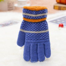 Benutzerdefinierte Vollfinger Handschuh Acryl Handschuhe Winter Handschuhe für Kinder