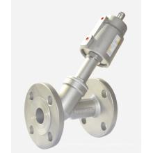 Угловой седельный клапан - Тип фланца