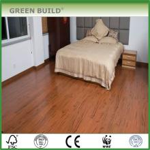 Suelo vertical de bambú de color sólido de 15 mm de trigo