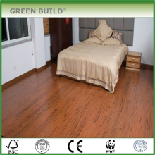 Vertical wheat color 15mm solid bamboo flooring