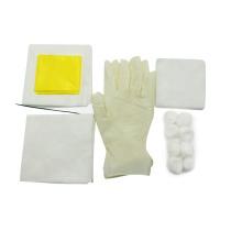 Kit de curativos descartáveis para feridas Conjuntos / conjunto de curativos médicos