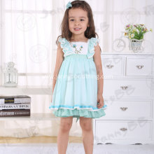 children girls hand embroidered boutique remake dress