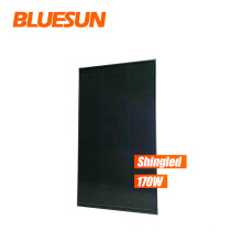 Bluesun top quality small solar panel 70w 100w 170w all black color panel for wholesale