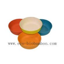 Tigela de bambu da tabela da fibra (BC-B1003)