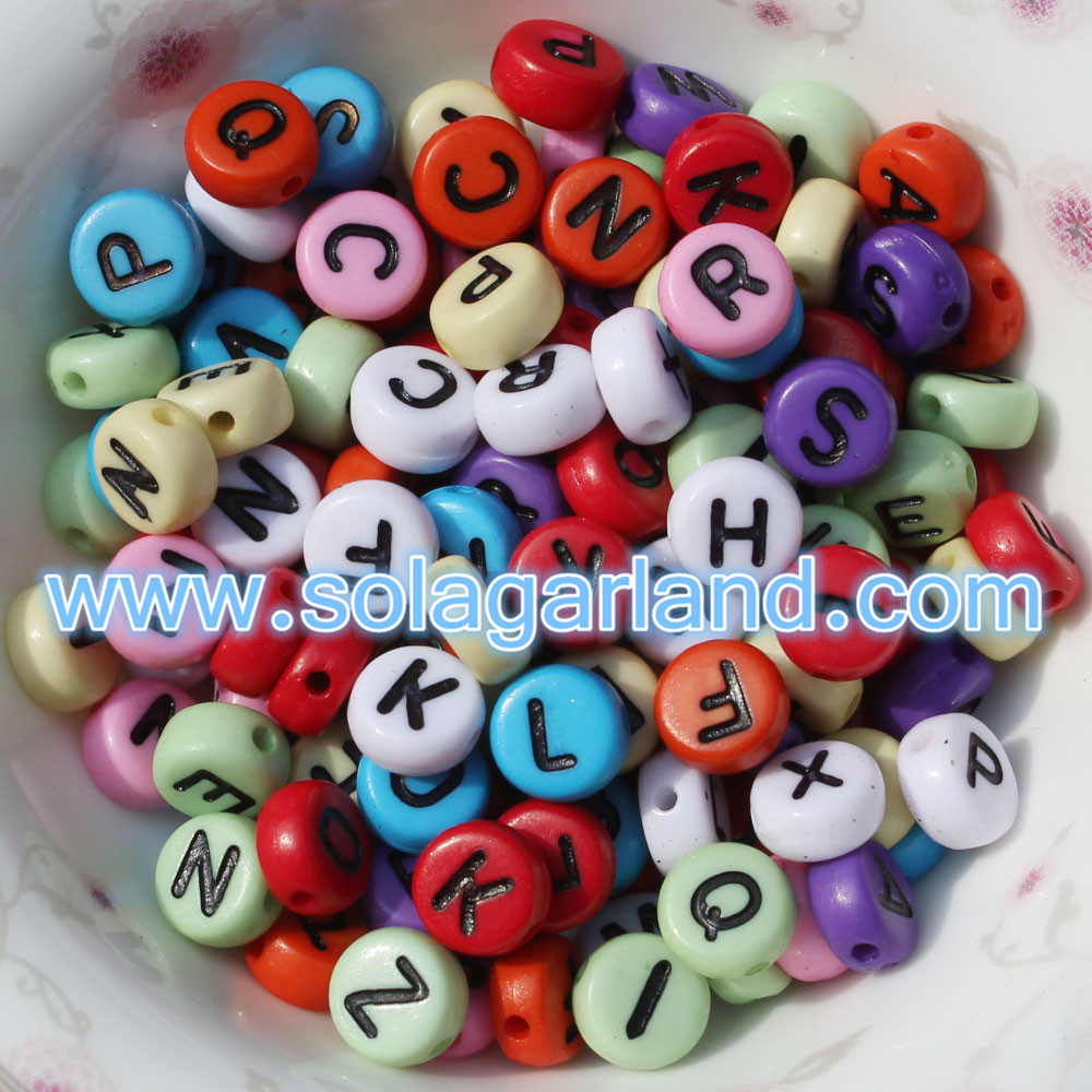 A to Z Alphabet Letter Beads