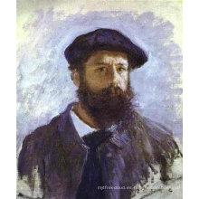 Trabajos famosos de la pintura al óleo del artista de Monet