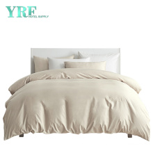 4PCS Five Star Embroidery Logo 100 Cotton Cal King Hotel Bedding Sets