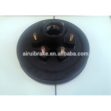 brake drum - PCD139.7mm drum with 6 studs 1/2-20UNF for electric drum brake part of trailer