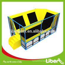 Liben Hersteller Kleine kundenspezifische kommerzielle Erwachsene Indoor Trampolin Park