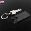 Schlüssel USB-Stick mit Ledertasche