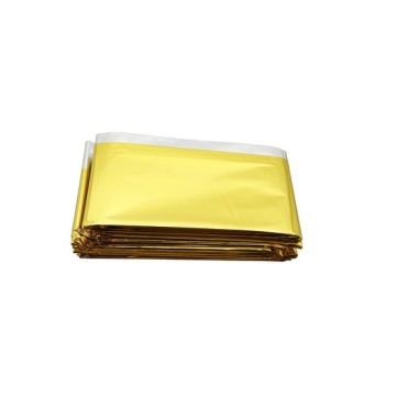 Couverture de survie Mylar Thermal Space Blanket