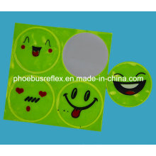 CE Certified Smiling Face Safety Sticker