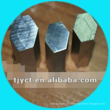 Barra 304 de aço inoxidável redonda / sextavada / haste