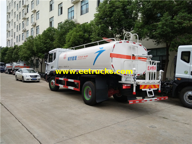 Light Water Tank Trucks