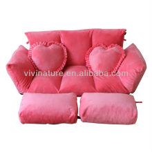 Living Room Legless Repel Water Comfortable Adjustable Backrest and Armrest Sofa