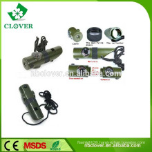 Multifunctional 7 in 1 plastic police using survival safety whistle