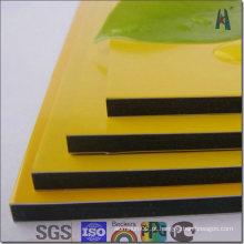 Painel composto de alumínio PVDF de alumínio de 6mm