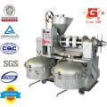 Expulsor de óleo de sementes automático de prensa de óleo com filtro de óleo 100L