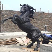 Venda quente bucking Estátua do Cavalo (tamanho de vida de Bronze) com preço baixo