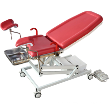 Movable Collapsible Electric Gynecology Chair Obstetric Examination Bed