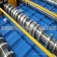 Máquina para painel trapezoidal de metal colorido para telhados