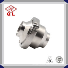 Adjustable Opening Pressure Sanitary Stainless Steel 316L Check Valve