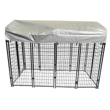 Square Tube Welded Outdoor Pet Dog Kennel