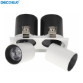 2x15w Strech Einstellbare COB LED Down Light