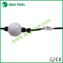 50mm y 35mm rgb led pixel bola dmx profesional led luz de cadena rgb dmx