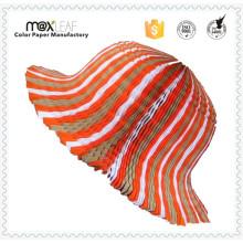 Chapéu de moda de senhoras Padrões Chapas de palha de palha de praia reciclado dobrável