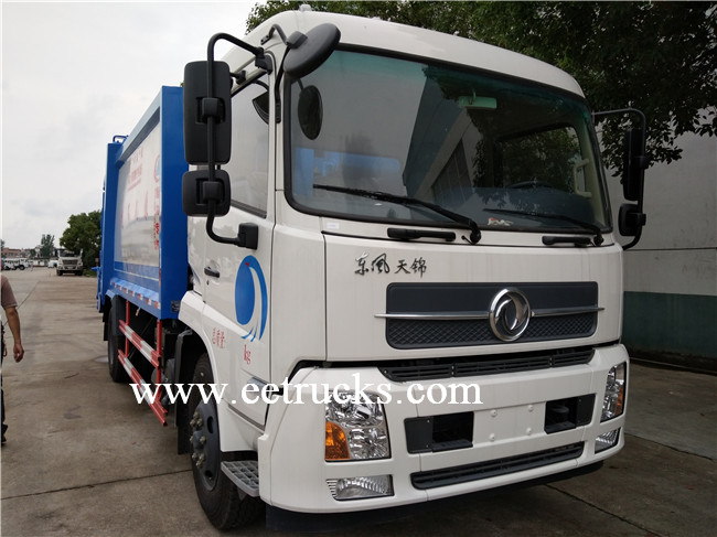 Dongfeng 5 CBM Garbage Compactor Trucks