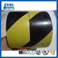 Floor Warning tape in red/white,yellow/black