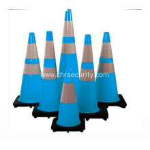 CE approved 1meter PVC color traffic cone