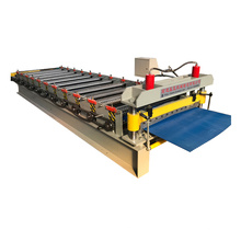 Ibr metal ceiling tile roll forming machine for clor roof panel