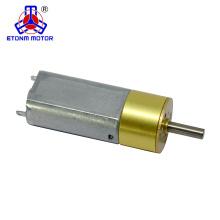 Motor de engranajes de 15 mm cc de bajo ruido con mini caja de engranajes para robot