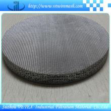 Malla sinterizada con precisión de filtrado uniforme y fiable