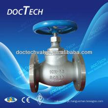 Válvula de controle de globo de Flange de aço inoxidável