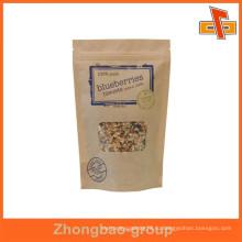 Нестандартная упаковка для коричневой крафт-бумаги для пищевых продуктов