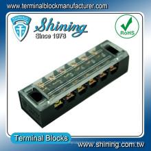 TB-3506 Messing 6-polig 600V 35A vergoldeter Klemmenblockstecker