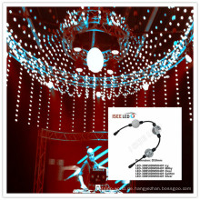 Kugel-Schnurvorhang DMX-Video 3D LED LED