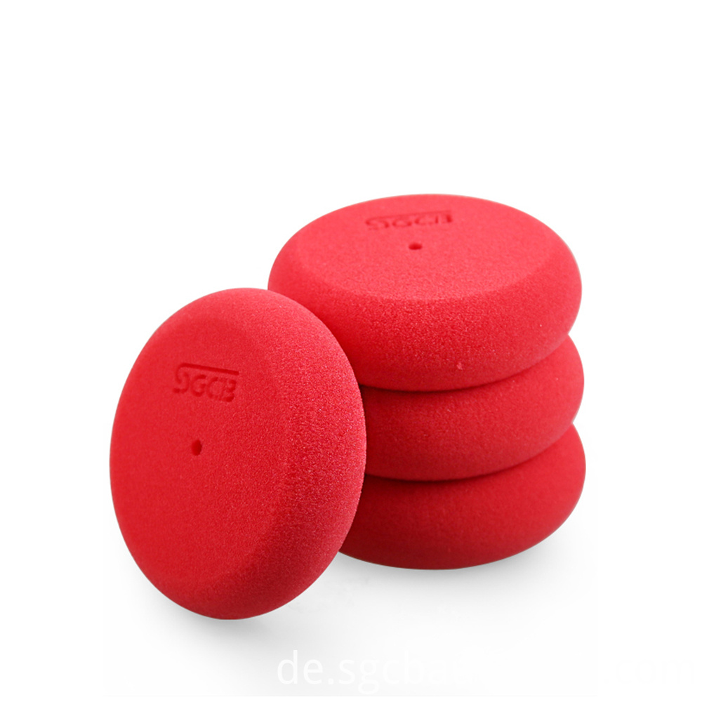 clean car wax applicator pads