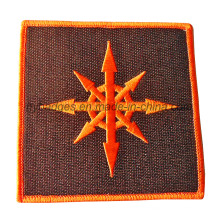 Custom Embroidery Woven Patch mit Threading Logos (GZHY-PATCH-006)