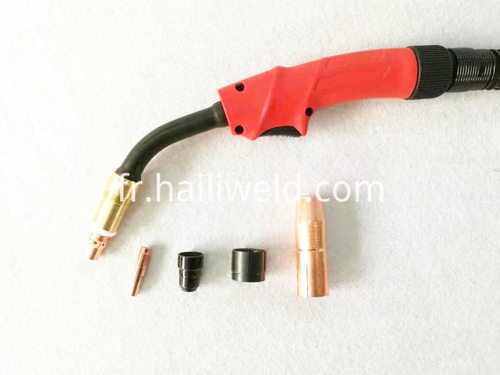Aw4000 400a Water Cooled Mig Welding Torch